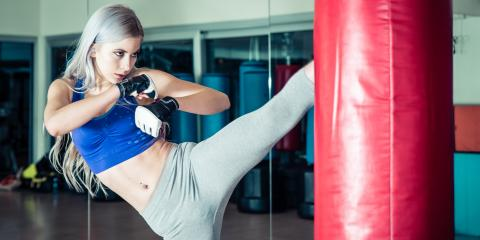 Top 3 Benefits of Kickboxing for Women, St. Louis, Missouri
