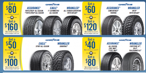 Goodyear Tires on Sale!, Superior, Wisconsin