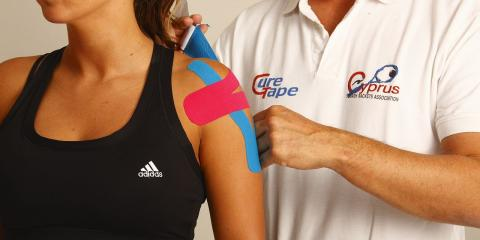 Physical Therapy Center Uses Kinesio Taping for Pain Relief & Healing	, Lincoln, Nebraska