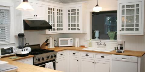 Pros & Cons of Glass-Faced Kitchen Cabinets, Union, Ohio