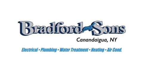 Bradford and Sons - Call 585-657-7309 for Electrical, Plumbing or Heating Services Today!, Canandaigua, New York