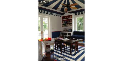 The Art of Tricks: How Optical Illusions With Paint Influence Interior Design , Los Angeles, California