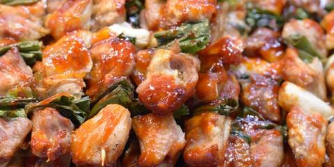 Order Lettuce With Yakiniku to Create Ssam at the Restaurant, Honolulu, Hawaii