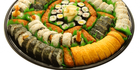 Why You Should Order Sushi for Your Graduation Party Platter, Ewa, Hawaii