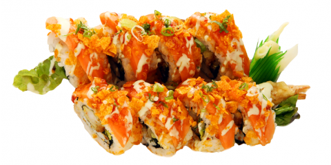 3 Most Popular Sushi Rolls at Kozo Sushi, Honolulu, Hawaii
