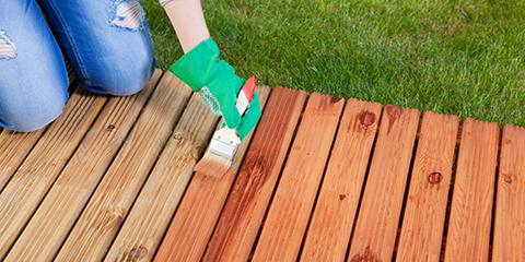 How to Choose Between Staining & Painting, Lexington-Fayette Central, Kentucky