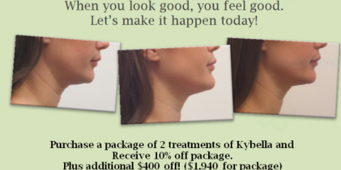 10% off 2 treatment Kybella package + $400 additional off, Honolulu, Hawaii