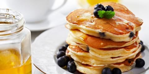 Why You Should Celebrate National Blueberry Pancake Day, La Crosse, Wisconsin