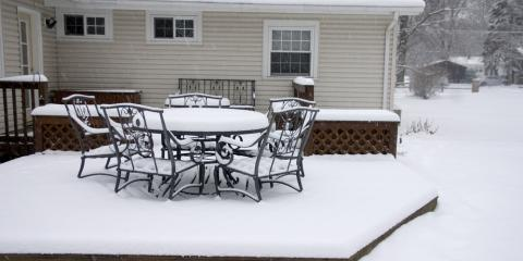 3 Winter Patio Maintenance Tips, Medary, Wisconsin