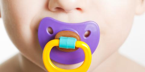 Children's Dentist Discusses When It's Time to Take Your Child's Pacifier, Campbell, Wisconsin