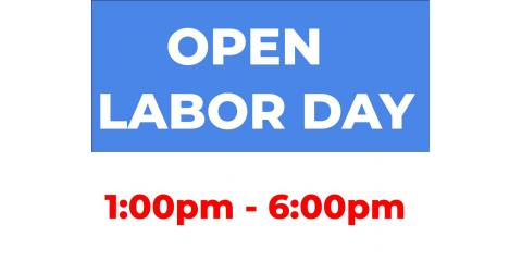 Labor Day Hours, Centerville, Ohio