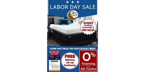 Sleep Central's Labor Day Sale!, Minocqua, Wisconsin