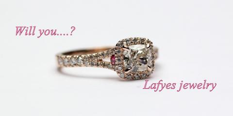 "Lafyes Jewelry Makes Custom Jewelry Design a ""Sure Thing"", New York, New York"