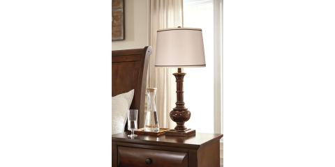 Oakleigh Lamp Set By Ashley 127 Mcguire Furniture