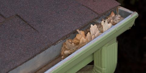 3 Fall Landscaping Tips for Maintaining Your Gutters, Lincoln, Nebraska