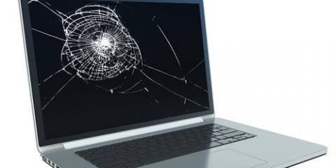 Laptop Repair: Is Your Cracked or Broken Laptop Screen Fixable? , Manhattan, New York