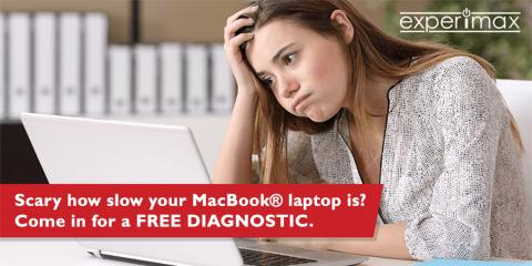 How slow is your laptop? Come in for a FREE DIAGNOSTIC!, Portsmouth, New Hampshire