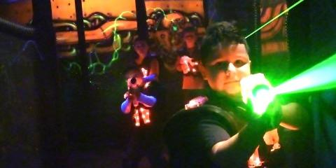 Unlimited Laser Tag w/ pizza & soda, Waterbury, Connecticut