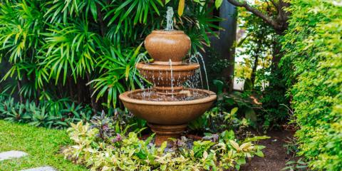 Where to Place a Water Feature in a Yard, Honolulu, Hawaii