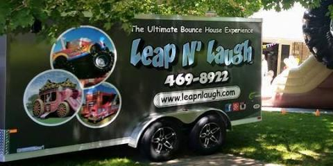 Leap N' Laugh, Inflatable Jumper Rentals, Shopping, Rochester, New York