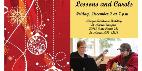 Chatfield College to Present Lesson and Carols, St. Martin, Ohio