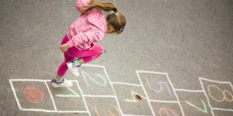 3 Fun Games for Kids to Play on Asphalt Surfaces, Richmond, Kentucky