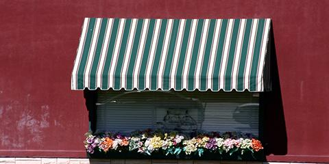 Easy Steps for Spot Cleaning a Fabric Awning, Lexington-Fayette, Kentucky