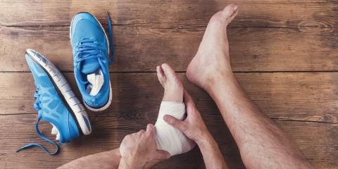 A Lexington Foot Doctor Explains the Difference Between Sprains & Fractures, Mount Sterling, Kentucky