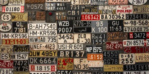 A Brief History of License Plates, 10, Louisiana