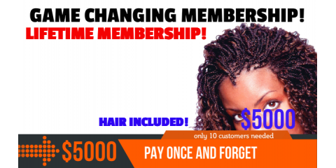LifeTime Braids Membership For 10 People , Spauldings, Maryland