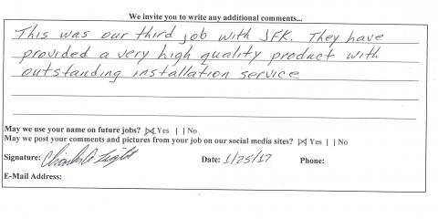 Customers in Eastgate Review JFK Window and Door, Forest Park, Ohio