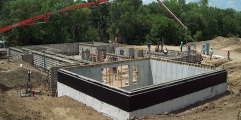 Poured concrete foundations vs block foundations for Poured foundations