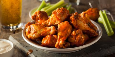 Chicken Wings Rule the Restaurants on College Football Saturdays, Lincoln, Nebraska