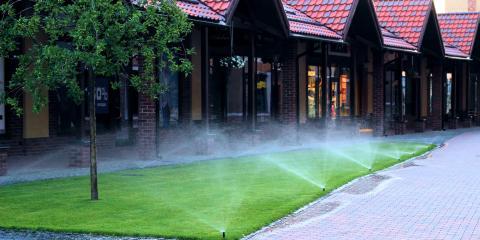 3 Common Kinds of Sprinkler Heads, Lincoln, Nebraska