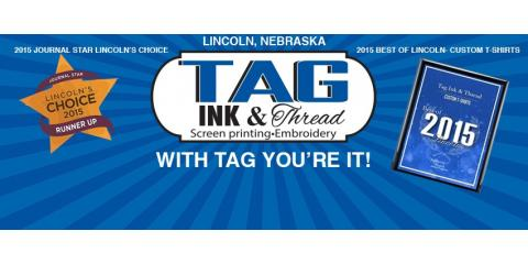 Tag Ink Provides Shirts for Lincoln Marathon, Lincoln, Nebraska