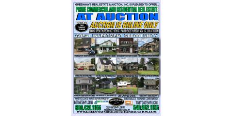 DON'T MISS YOUR CHANCE TO BID - 12 RESIDENTIAL AND COMMERCIAL WHITE SULPHUR SPRINGS WV PROPERTIES ENDS NOVEMBER 1ST, Covington, Virginia