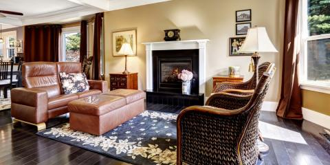 4 factors to consider when choosing between leather or fabric living room furniture