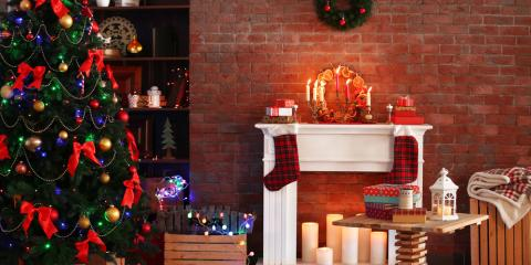 How To Decorate Living Room Furniture For The Holidays, Russellville,  Arkansas