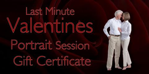 Last Minute Valentines Portrait Session Gift Certificate!, McLean, Virginia
