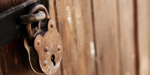 3 Ways to Prevent Rust on Outdoor Locks, Poplar Tent, North Carolina