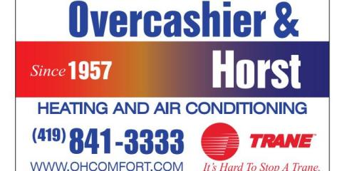 Overcashier & Horst Heating and Air Conditioning, HVAC Services, Services, Sylvania, Ohio