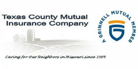 Texas County Mutual Insurance, Home and Property Insurance, Services, Licking, Missouri