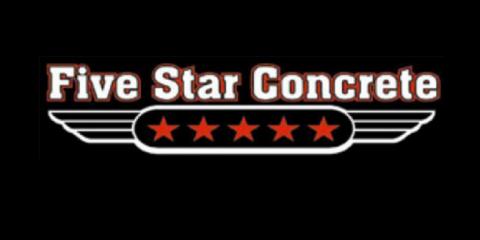 Five Star Concrete, Concrete Contractors, Services, Holmen, Wisconsin