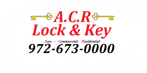 Locksmith Frisco TX | A.C.R Lock & Key 972-673-0000, Plano, Texas