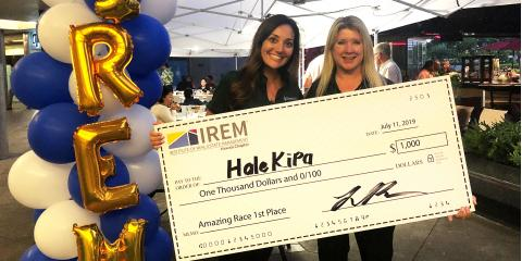 "Hawaiiana Team Wins IREM ""Amazing Race"" Challenge!, Honolulu, Hawaii"