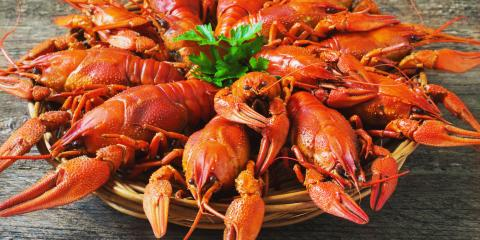 3 Simple Steps to Eat Crawfish, Manhattan, New York