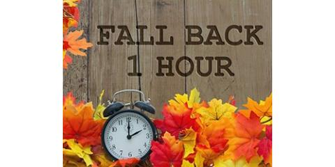 Don't forget to set your clocks back one hour before going to bed this Saturday!!!!, Forked River, New Jersey