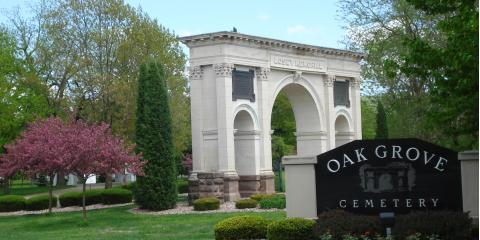 Oak Grove Cemetery Walking Tour Sights: The Losey Memorial Arch, La Crosse, Wisconsin