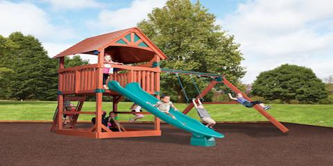 Kids Love the Treehouse Series From Baton Rouge's Custom Playset Specialists, 11, Louisiana