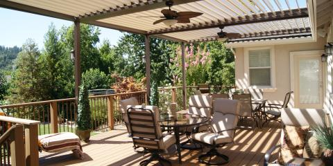 What Is the Difference Between a Patio & a Deck, East Yolo, California